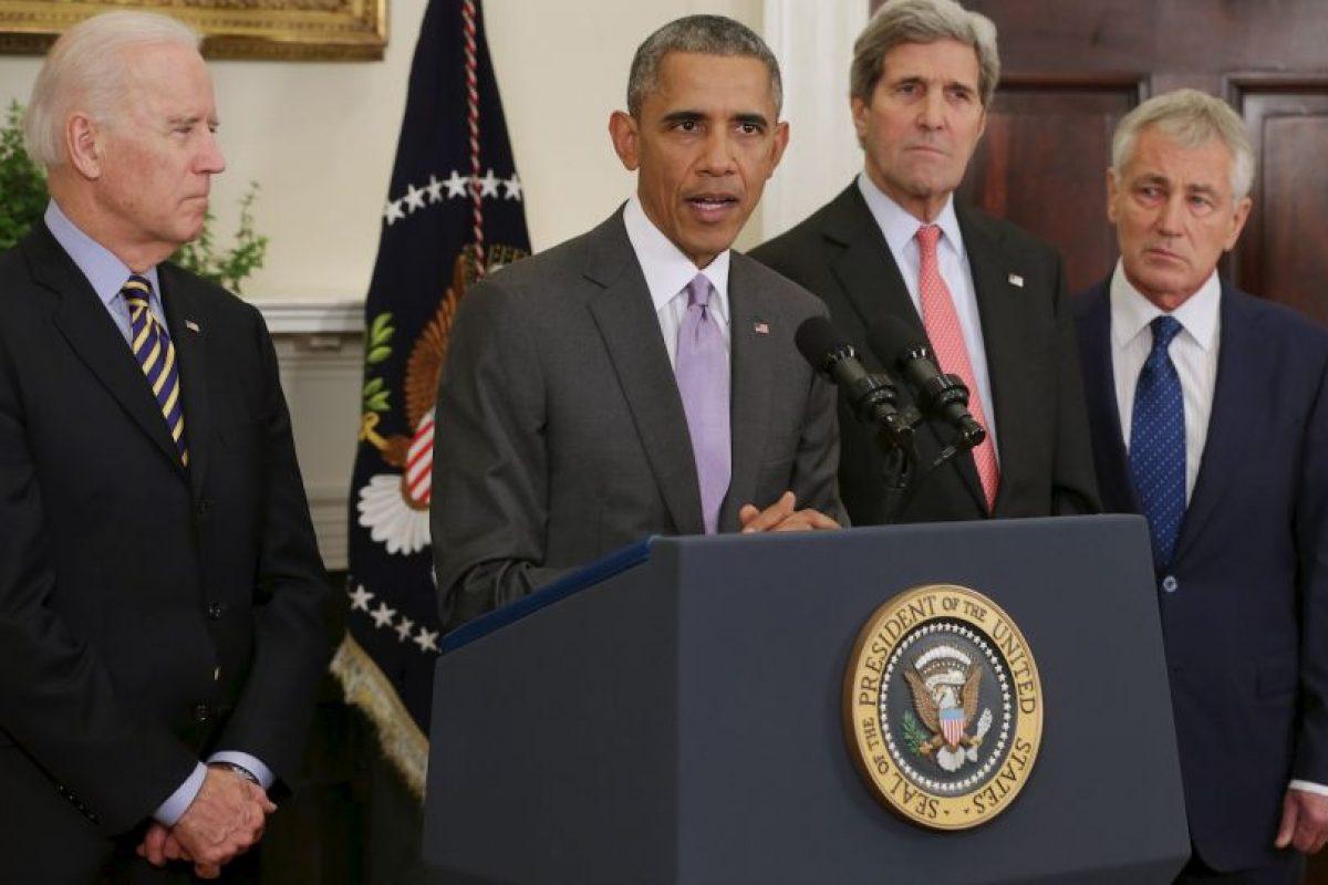 """1. """"ISIS está a la defensiva y nosotros a la ofensiva. Los vamos a derrotar"""" Foto:Getty Images. Imagen Por:"""