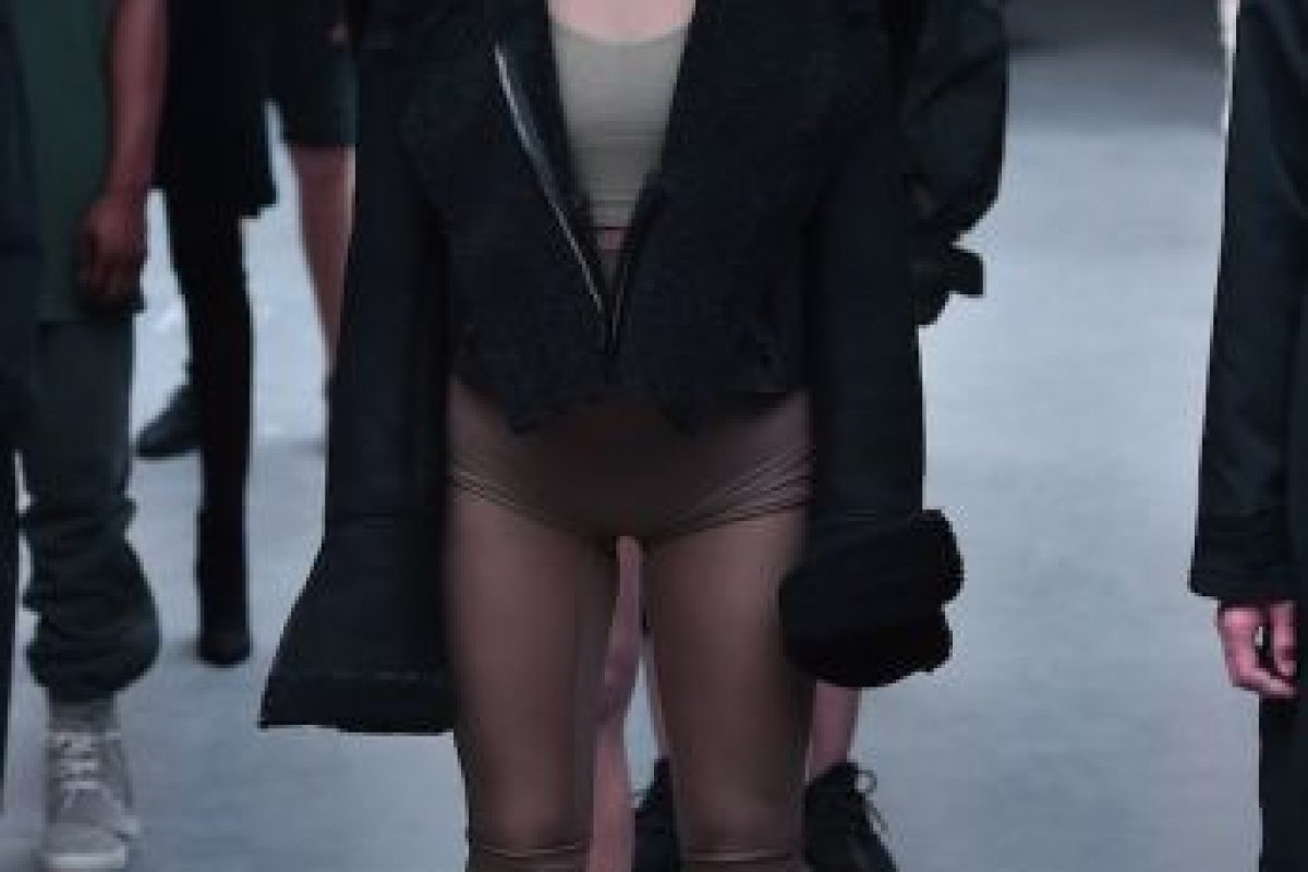Foto:Así fue la presentación de Kanye West en la semana de la moda. Imagen Por: