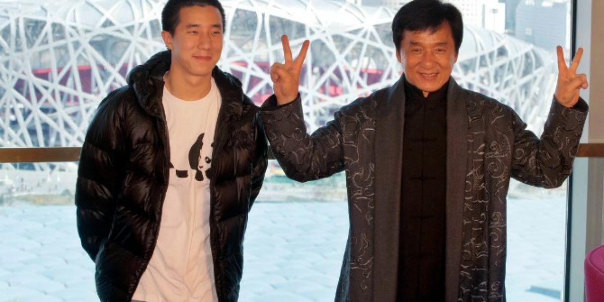 Hijo de Jackie Chan sale de la cárcel en Beijing