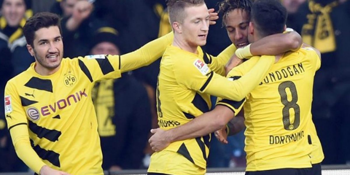 Se recupera: Marco Reus lleva al Dortmund a su segunda victoria consecutiva