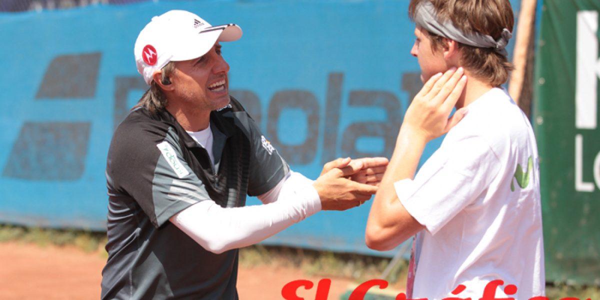 La nueva cara del Pulga de la Peña dentro de la Federación de Tenis de Chile