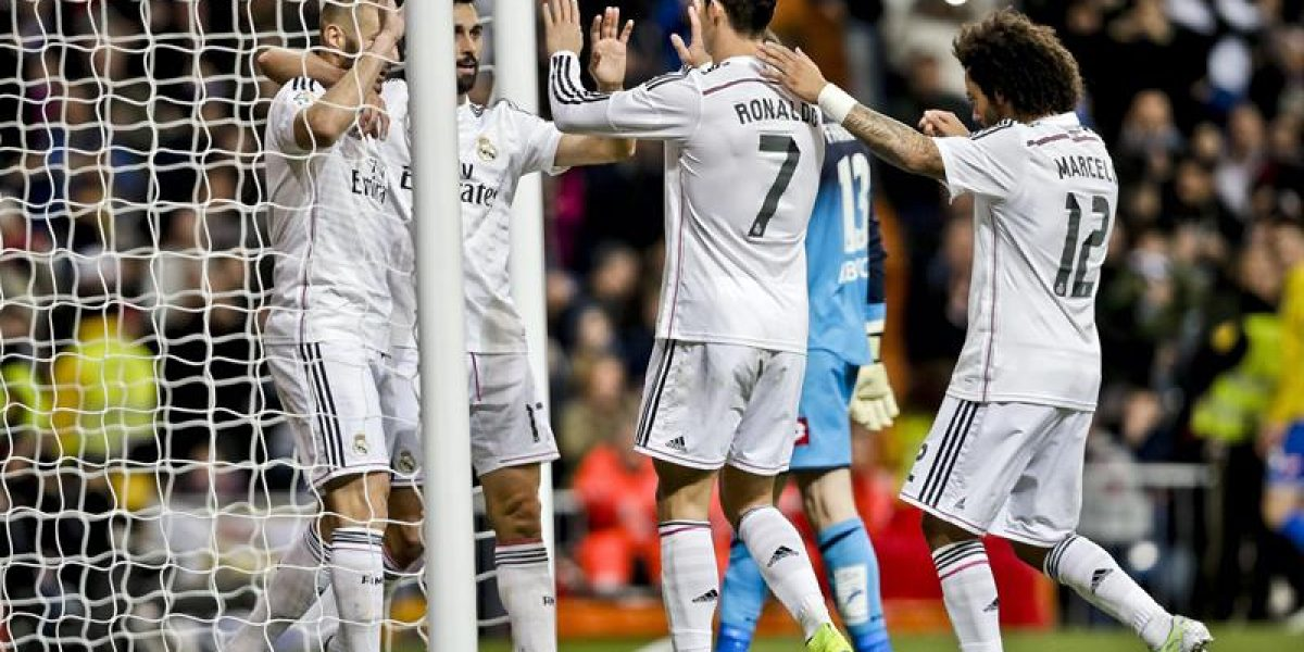 Real Madrid sigue en la cima en España tras vencer a La Coruña