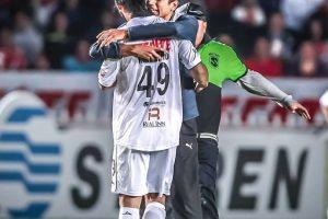 En el Clausura 2015 ha jugado dos cotejos, uno de ellos completo Foto:Facebook: Ronaldinho Gaúcho. Imagen Por: