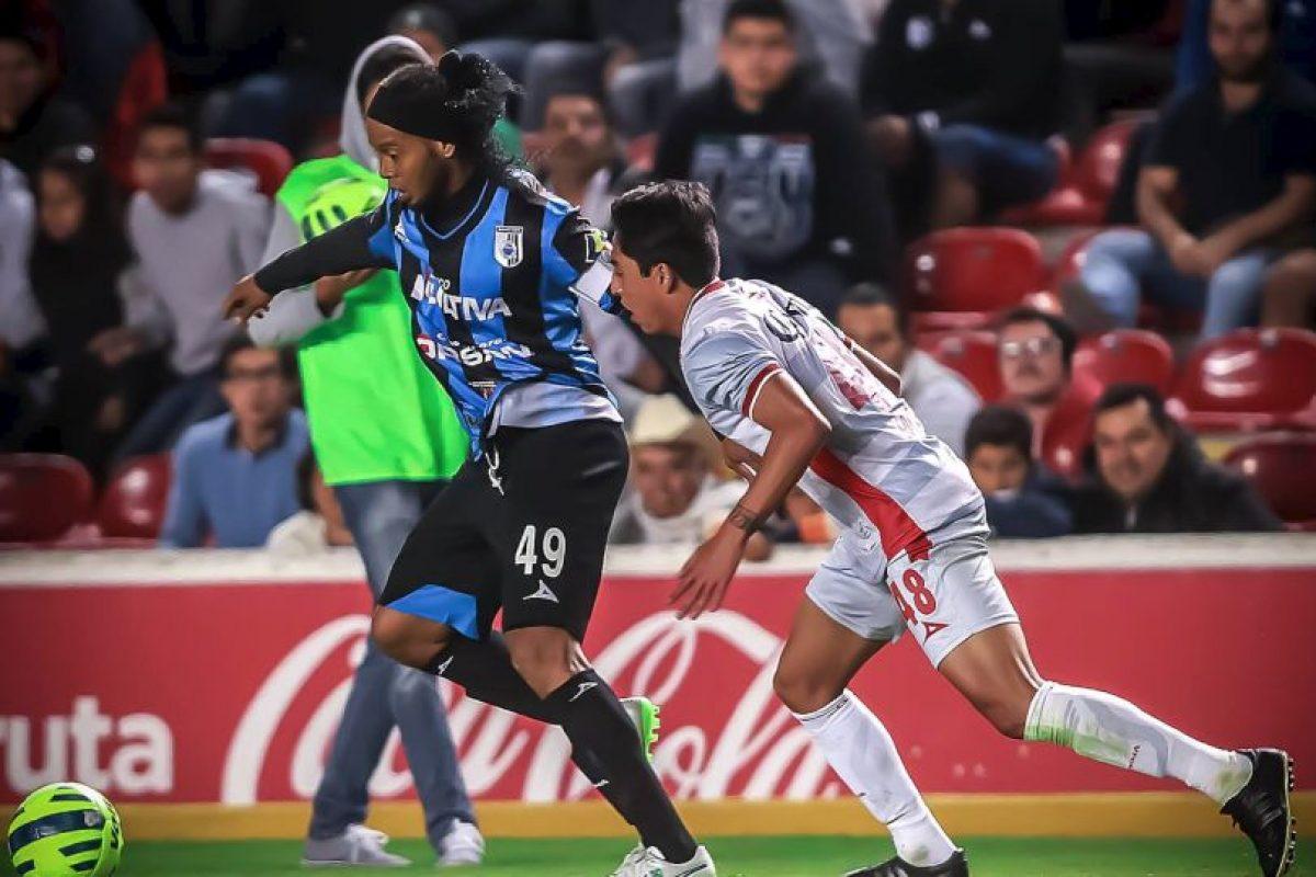 Ha marcado tres goles Foto:Facebook: Ronaldinho Gaúcho. Imagen Por:
