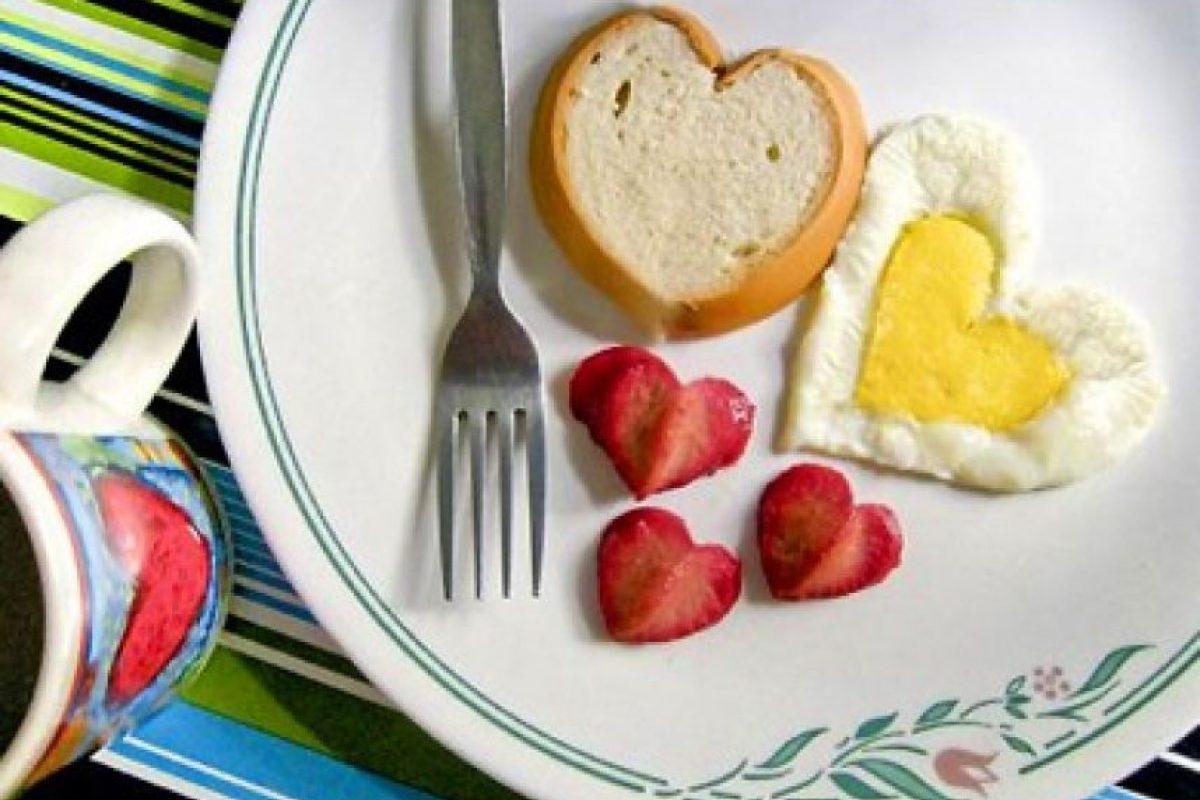 Comida en forma de corazón Foto:Funny Pics. Imagen Por: