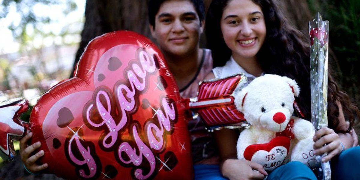 Así celebraron los chilenos el Día de los Enamorados