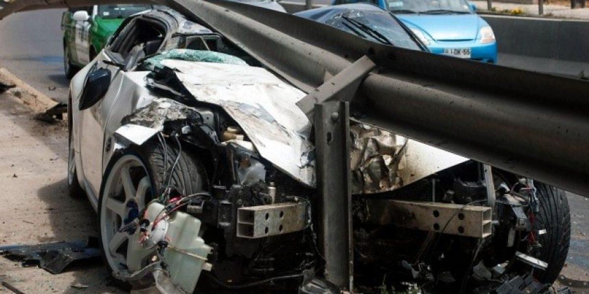 Un 12,9% menos de accidentes vehiculares en el inicio de 2015