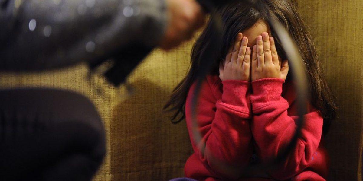 Maltrato infantil: Más de 33 mil niños fueron víctimas de violencia en Chile