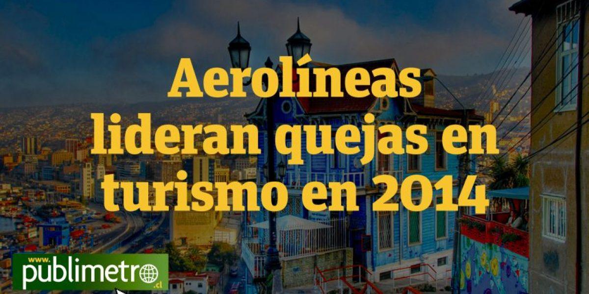 INFOGRAFÍA: Aerolíneas lideran quejas en turismo en 2014