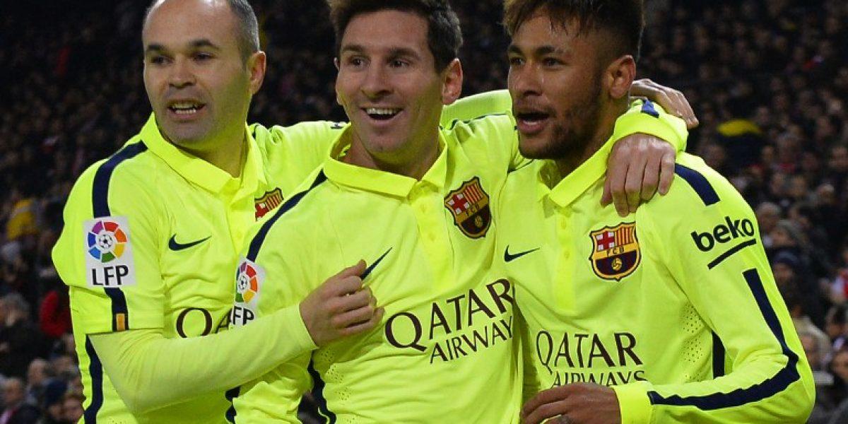 Figura del Barcelona se tiene fe: