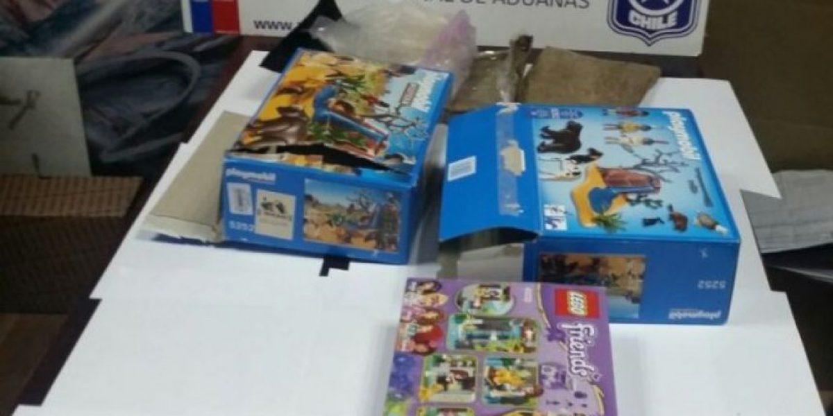 Decomisan 10 mil dosis de éxtasis en caja de juguetes