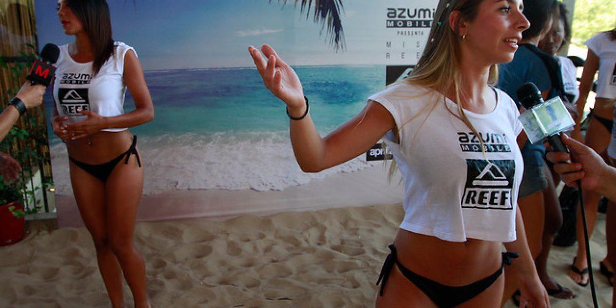 Un verano a todo cachete: conoce a las candidatas para ganar el Miss Reef