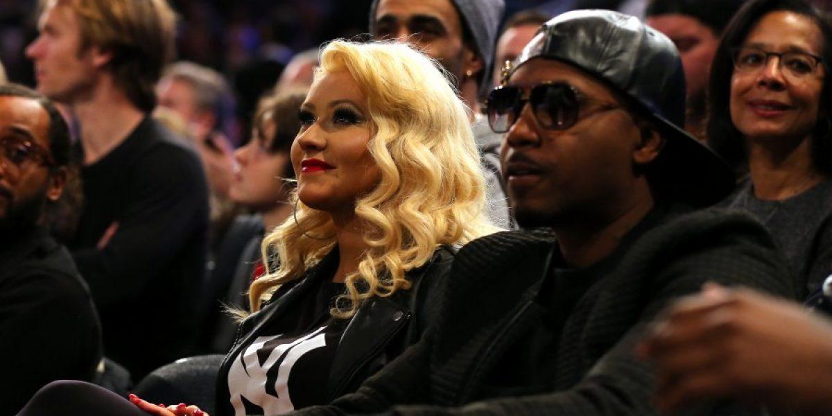 De Rihanna a Christina Aguilera: Los famosos que brillaron en la noche de estrellas de la NBA