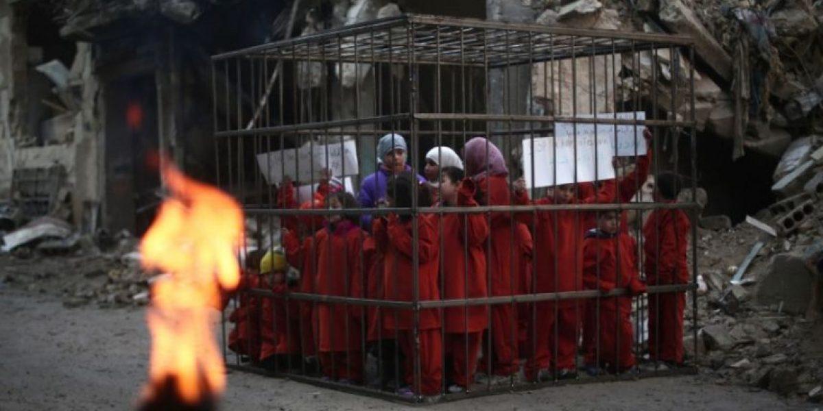 FOTOS: ¿Estado Islámico quemó vivos a estos niños?