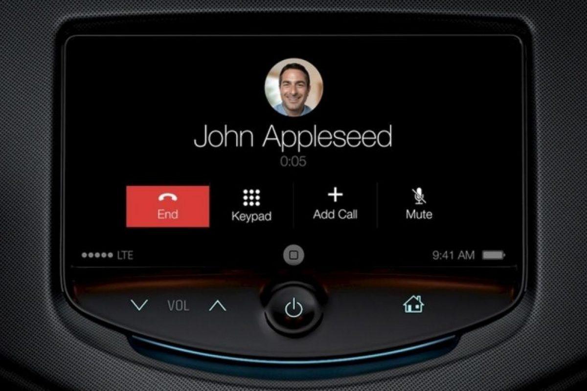 Contestar es posible con la voz o el tacto Foto:Apple. Imagen Por: