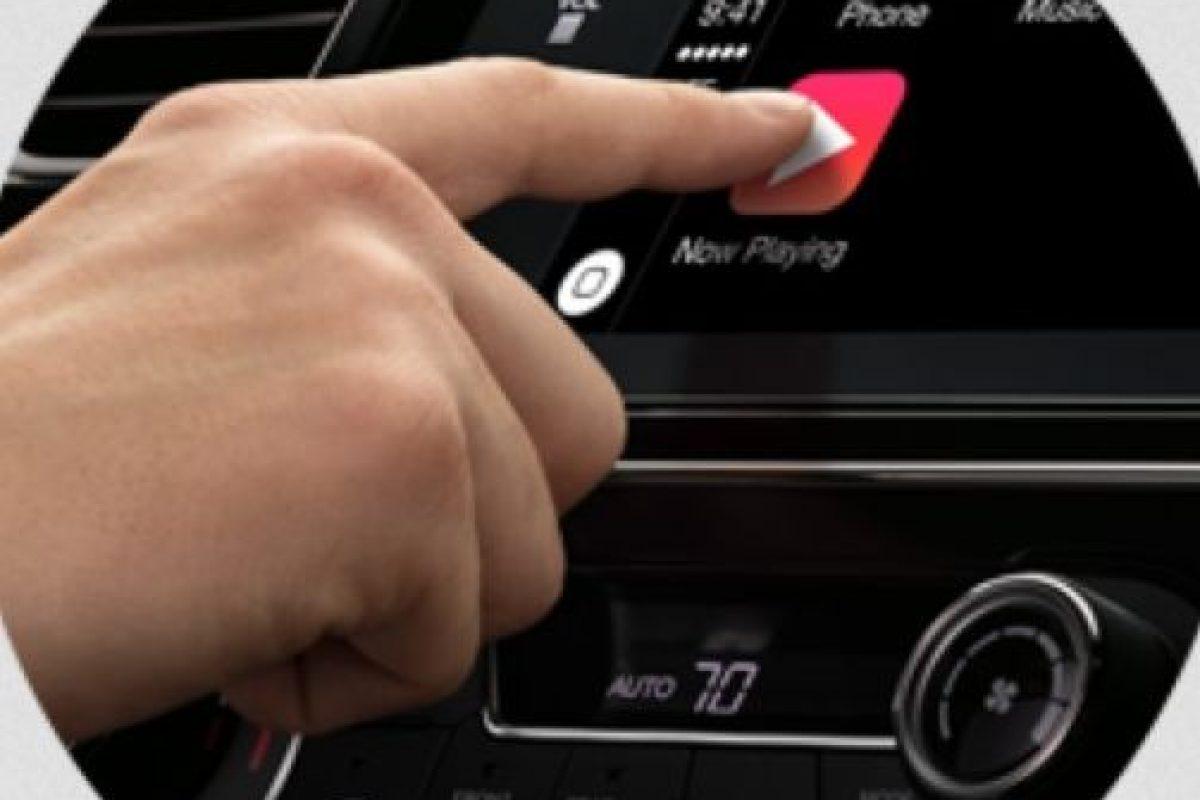 El software se puede utilzar también con un toque. Foto:Apple. Imagen Por: