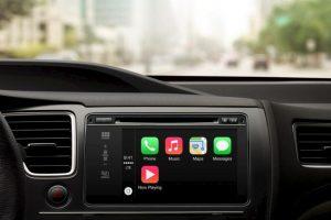 De esta forma luce Apple CarPlay . Foto:Apple. Imagen Por: