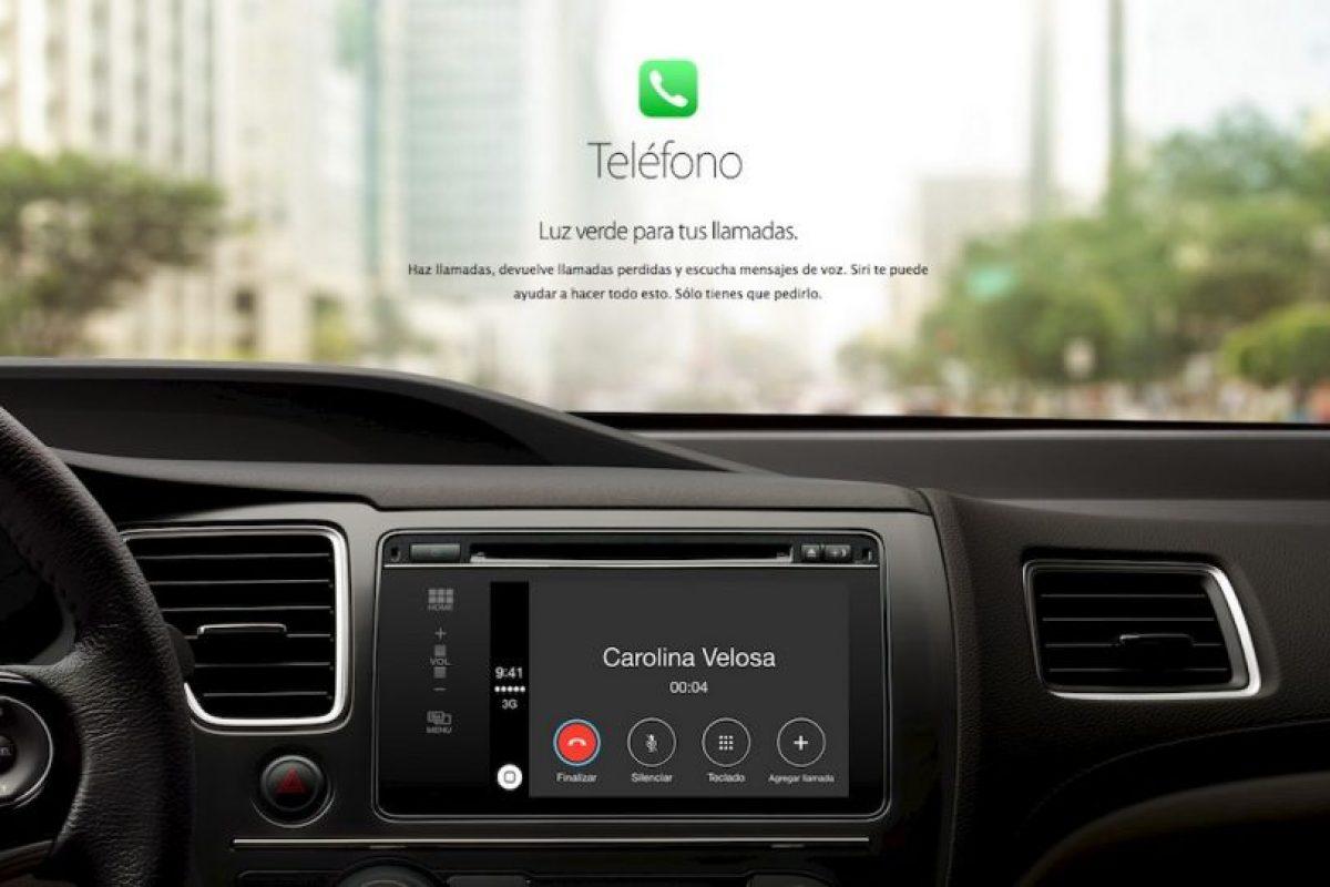 Llamar a un contacto requerirá de decir un solo comando. Foto:Apple. Imagen Por: