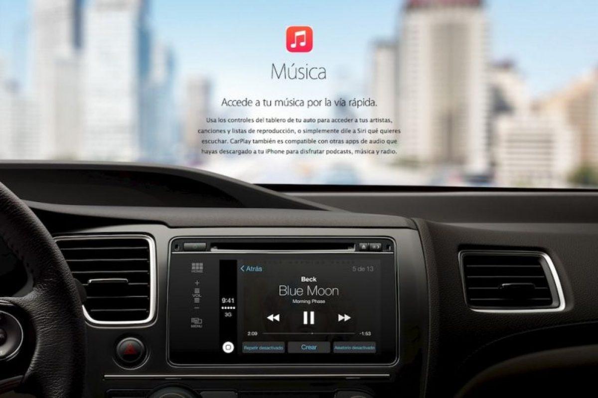 El soundtrack para su viaje en su automóvil. Foto:Apple. Imagen Por: