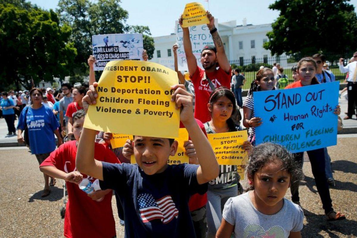 En esa época dos millones 700 mil inmigrantes fueron legalizados con la Ley de Reforma y Control de la Inmigración de 1986. Foto:Getty. Imagen Por: