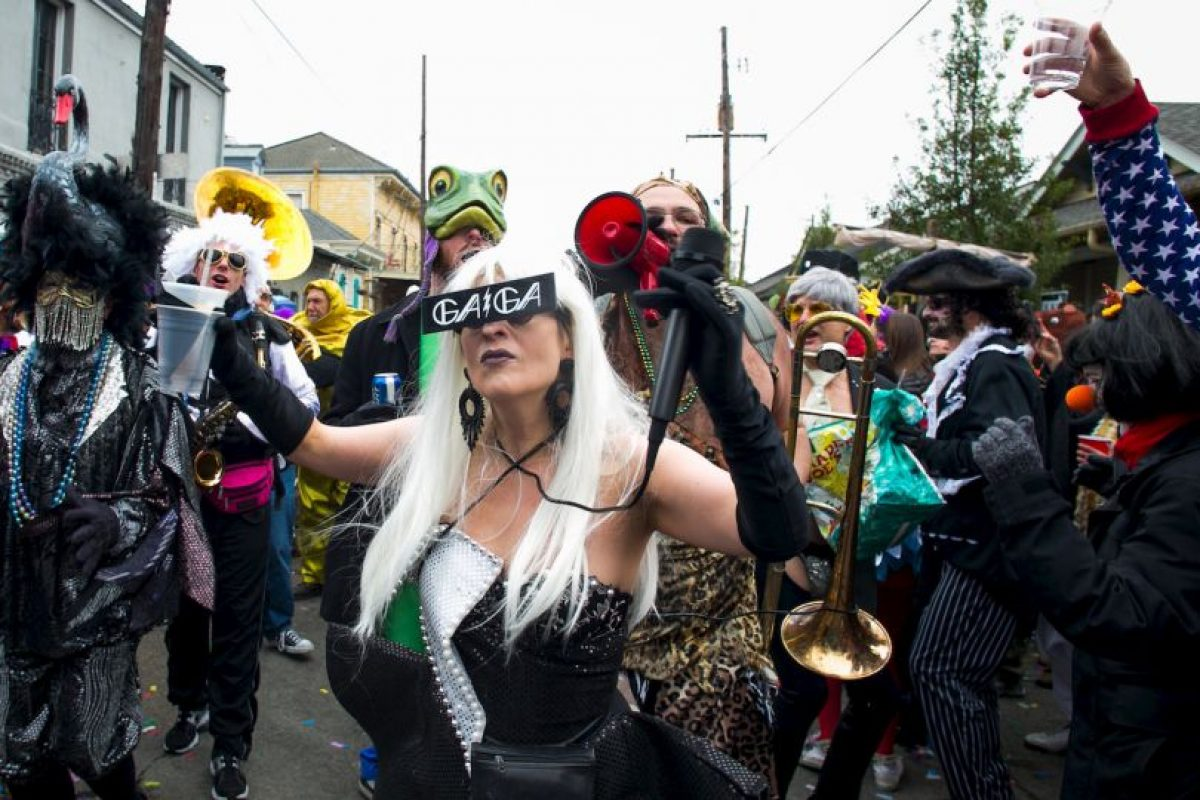 En la página oficial del evento se destaca que el carnaval inició en 1718, establecido por el explorador francés-canadiense Jean Baptiste Le Moyne. Foto:Getty. Imagen Por: