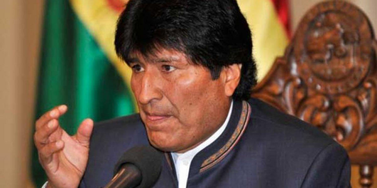 Andrade por Evo Morales: