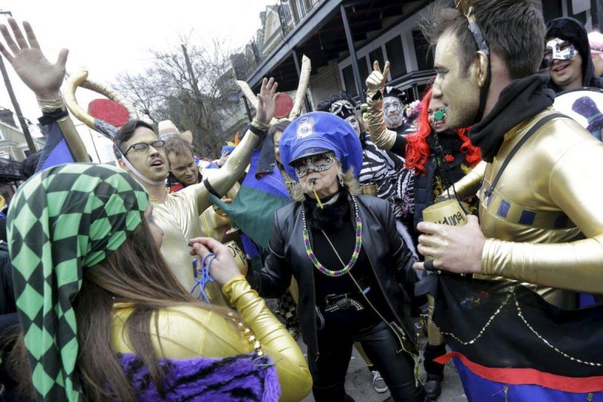 El primer Mardi Gras se llevó a cabo en 1857. Foto:AP. Imagen Por: