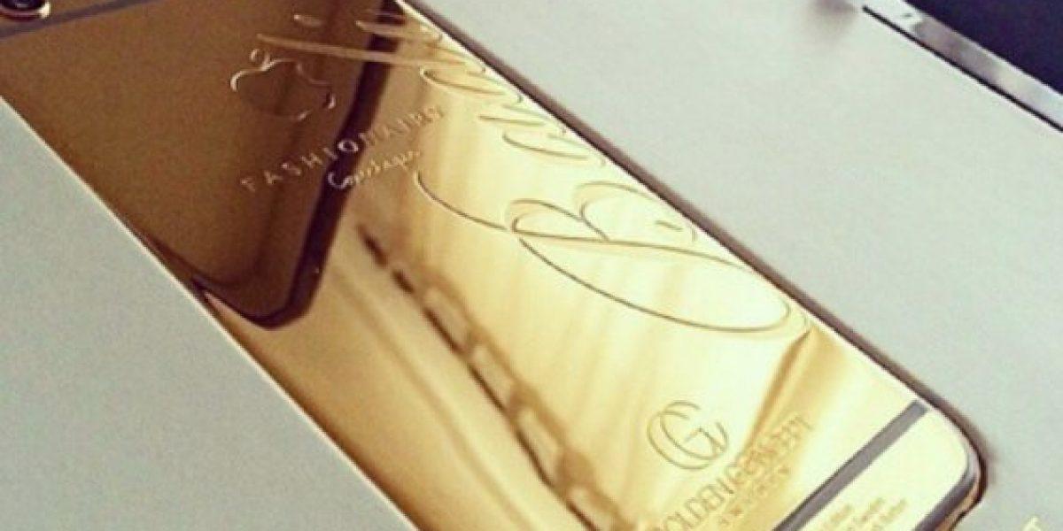 FOTO: El extravagante iPhone 6 que se regaló Cristiano Ronaldo