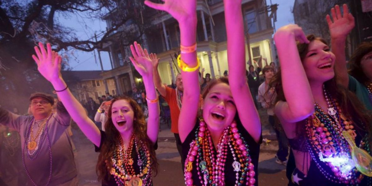 FOTOS: Las imágenes más desenfrenadas del Mardi Gras