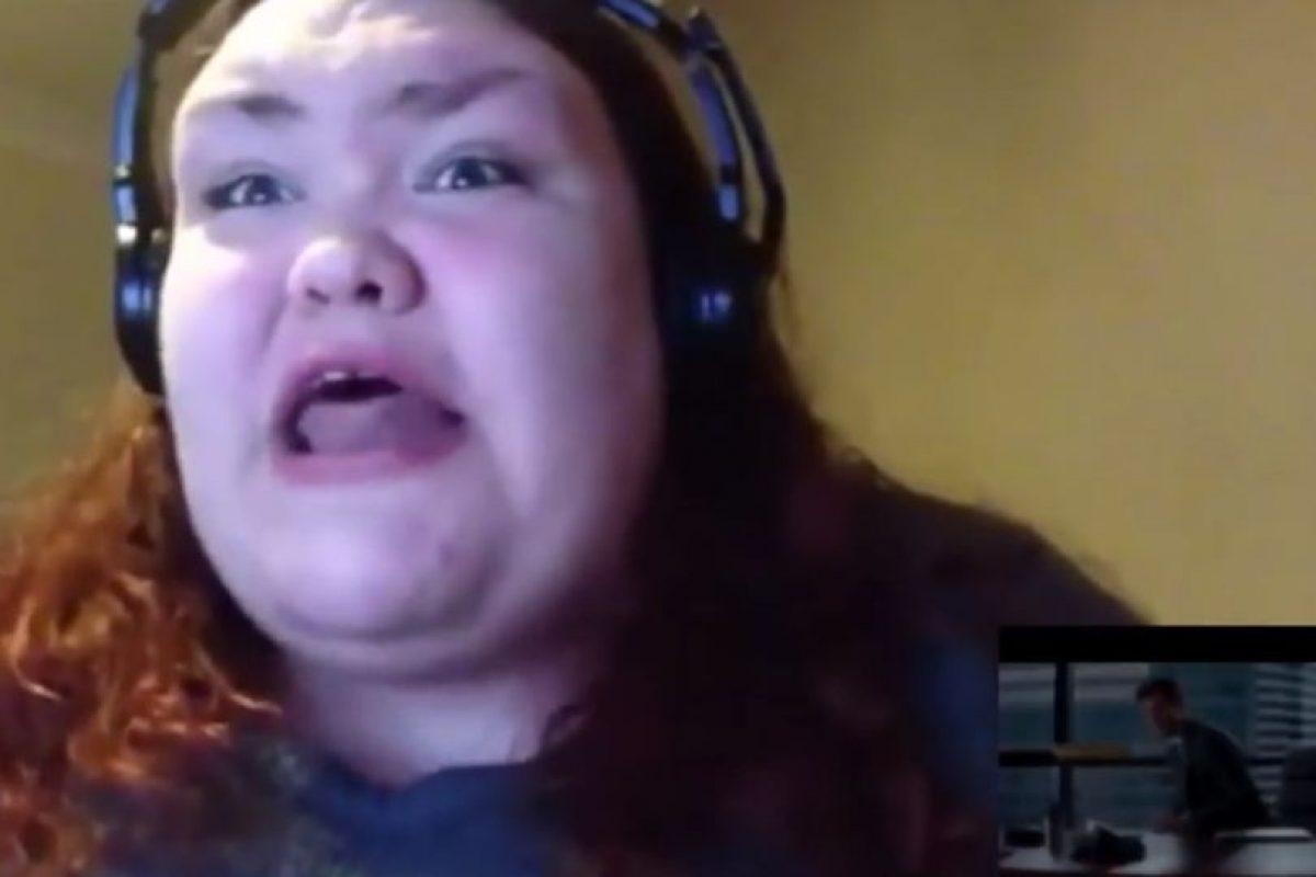 """Ella posteó un video de su desenfrenada reacción ante el tráiler de """"50 sombras de Grey"""" Foto:Nutty Madam/Youtube. Imagen Por:"""