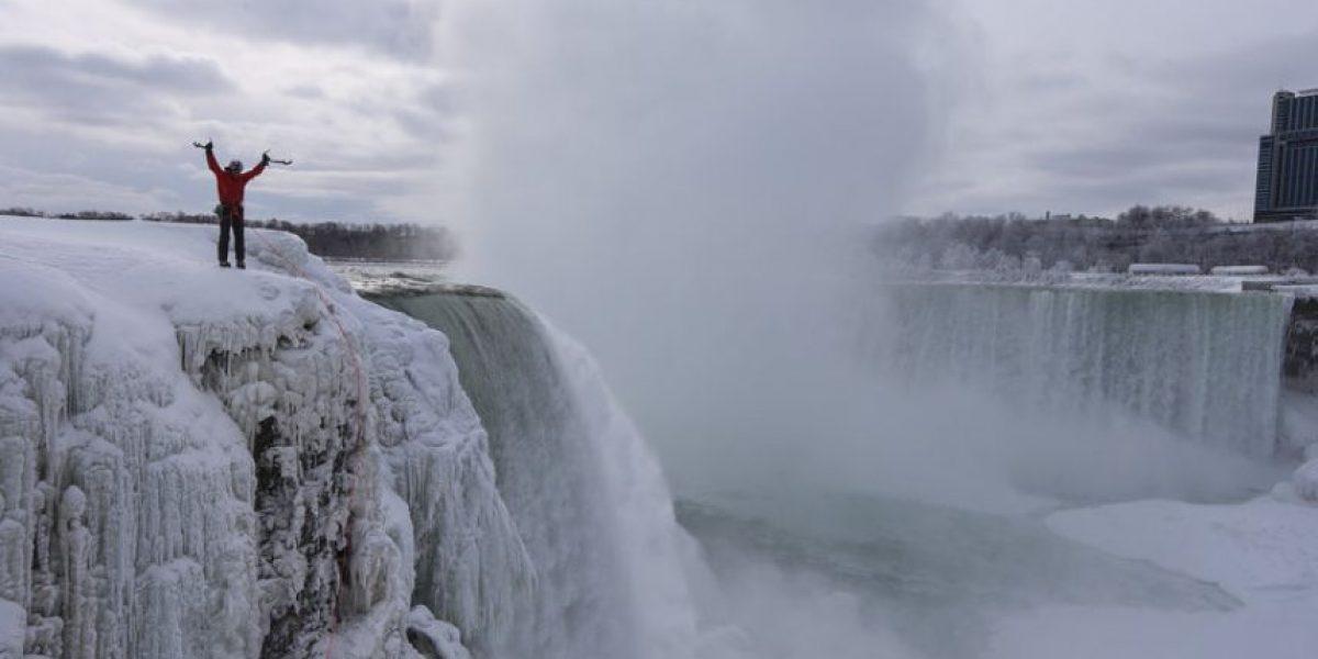 ENTREVISTA: Will Gadd, el primer hombre que escaló las Cataratas del Niágara