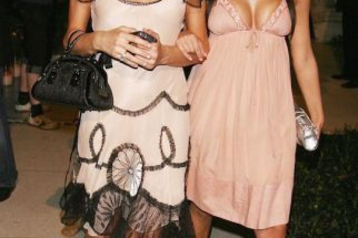 Después de que Kim revelara su cinta erótica, comenzaron las diferencias entre ambas celebridades. Foto:Getty Images. Imagen Por: