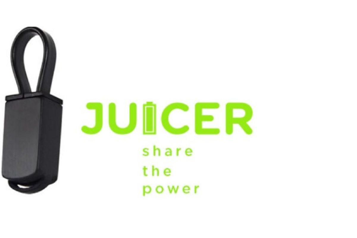 Ya no necesitarán una conexión a la energía eléctrica para recargar su smartphone. Foto:Juicer. Imagen Por: