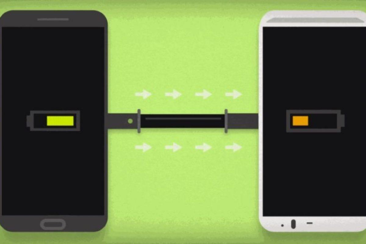 Un dispositivo con batería proporciona energía al que ya no tiene. Foto:Juicer. Imagen Por: