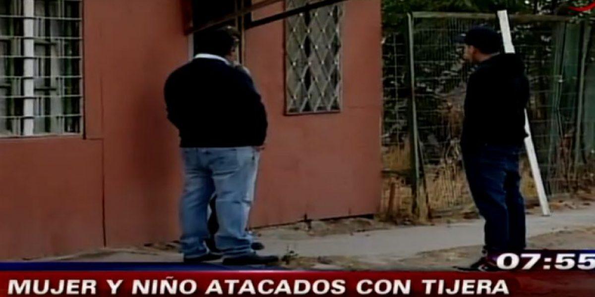 Detienen a sujeto que agredió con una tijera a una mujer y un niño en Curacaví