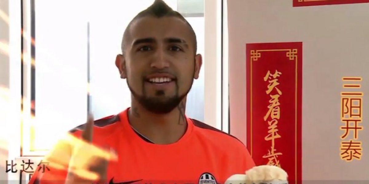 Video: Imperdible... el políglota Vidal mandó saludos para el año nuevo chino