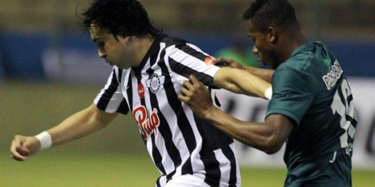 Osmar Molinas fue figura en igualdad de Libertad ante Atlético Nacional