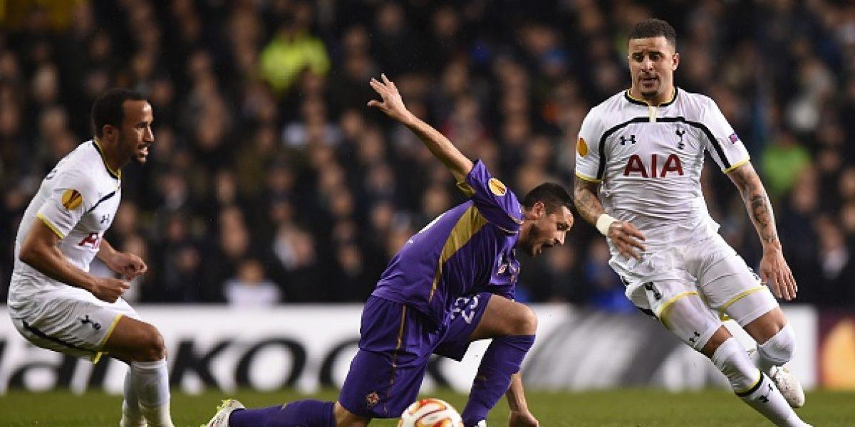 Fiorentina rescata un empate en su visita a Tottenham con un Fernández protagonista