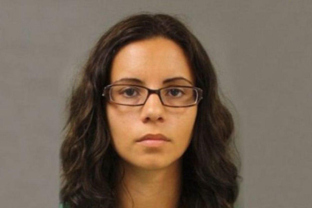 Kerry Ann García se acostaba con una estudiante de 16 años. Foto:Policía de Harris County. Imagen Por: