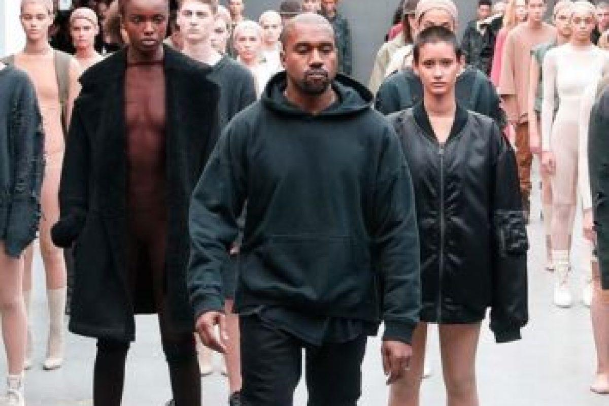 En la Semana de la Moda de Nueva York Kanye West no podía pasar inadvertido. Foto:Getty Images. Imagen Por: