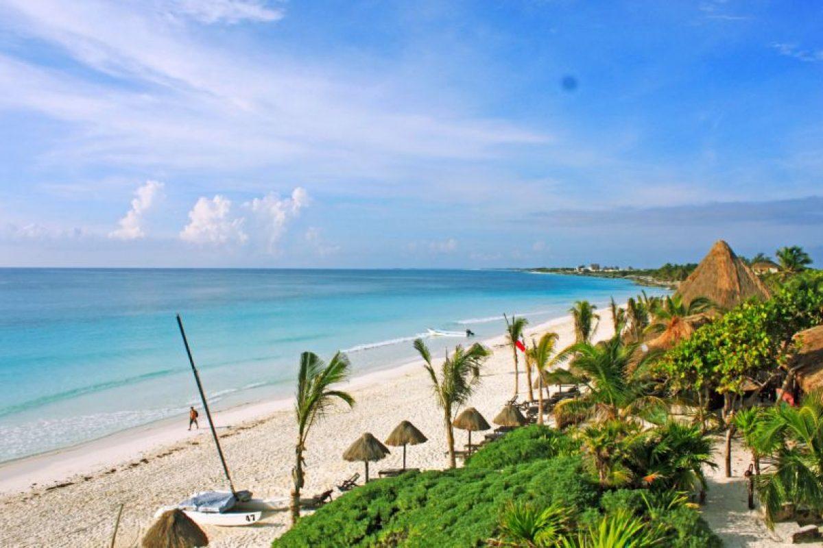 6. Playa Paraíso, México (lugar 21 de la lista). Foto:Vía Facebook.com/Tulum-Playa-Paraiso. Imagen Por: