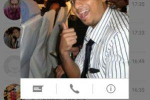 La opción para realizar llamadas o mandar mensajes. Foto:Android Police. Imagen Por: