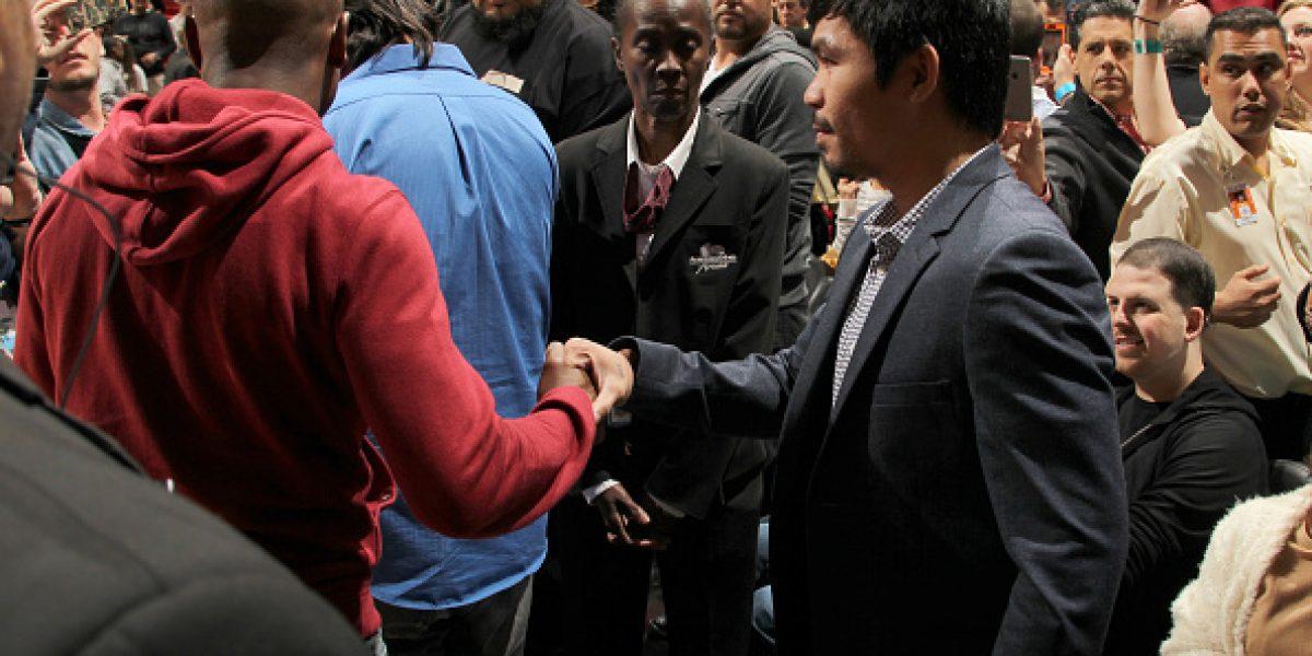 La pelea soñada: Ya hay fecha para el enfrentamiento Pacquiao-Mayweather