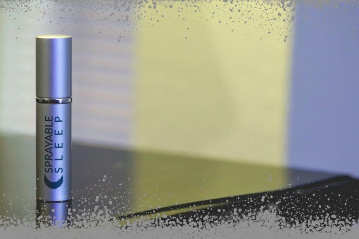 """""""Nuestro aerosol no pasa por el sistema digestivo y no te hace sentir aturdido por la mañana"""", informó Luk. Foto:Srayable.com. Imagen Por:"""