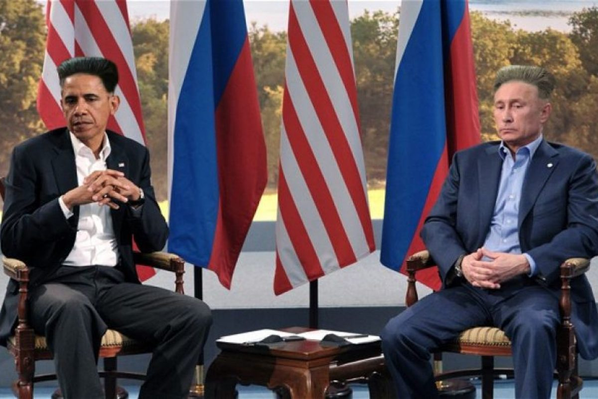 Barack Obama y Vladimir Putin Foto:Reddit. Imagen Por: