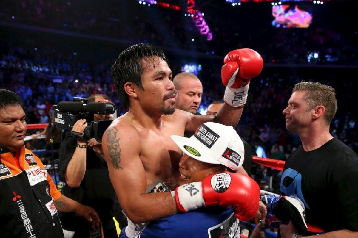Aunque ha venido a menos, aún es uno de los peleadores más grandes de la actualidad Foto:Getty. Imagen Por: