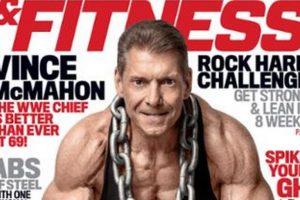 En la portado de Muscle & Fitness Foto:Twitter. Imagen Por: