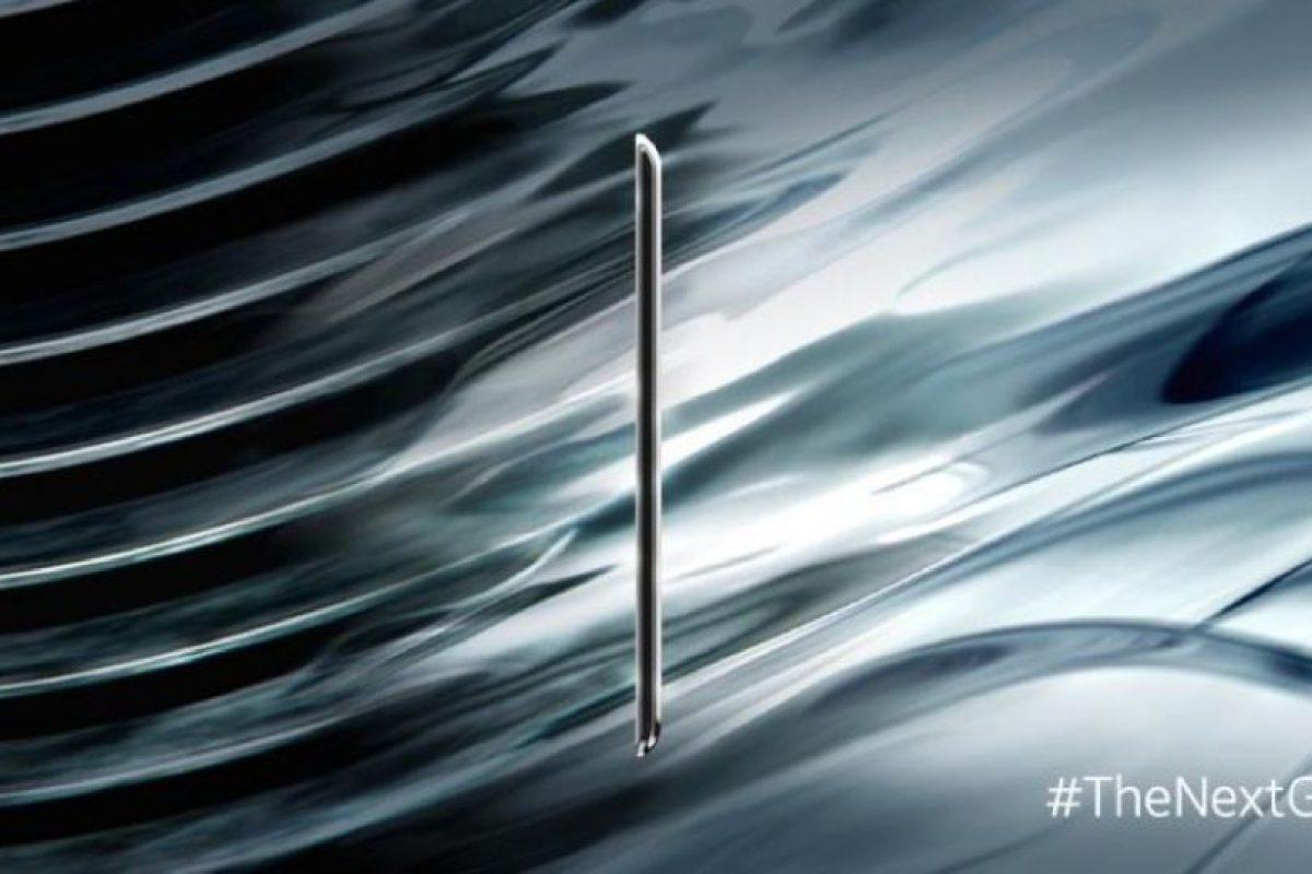 La primera imagen revelada del nuevo smartphone de Samsung. Foto:twitter.com/SamsungMobile. Imagen Por: