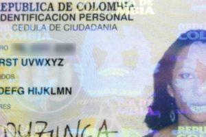 5. Colombiana se cambió el nombre por el del abecedario: Ladyzunga es una colombiana que tuvo que luchar por cambiar su nombre por el del abecedario. Es una artista visual y DJ que quería un nombre contundente. Foto:Registraduría Civil Colombia. Imagen Por: