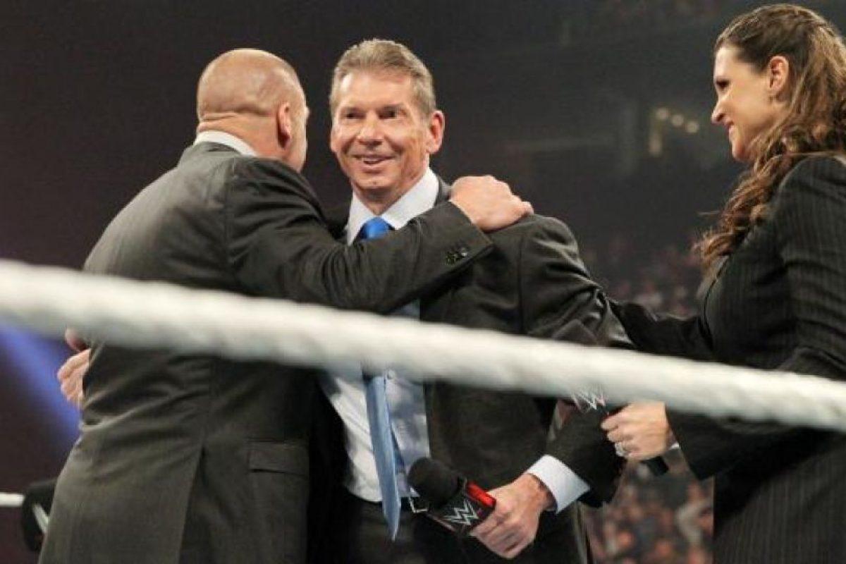 Logró que la WWE traspasara fronteras Foto:WWE. Imagen Por:
